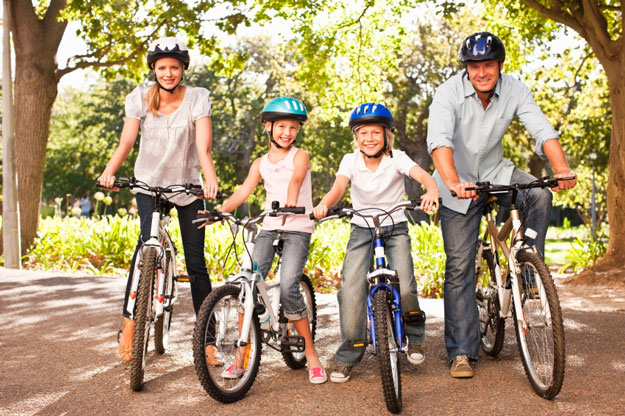 We have rental bikes for the whole family.